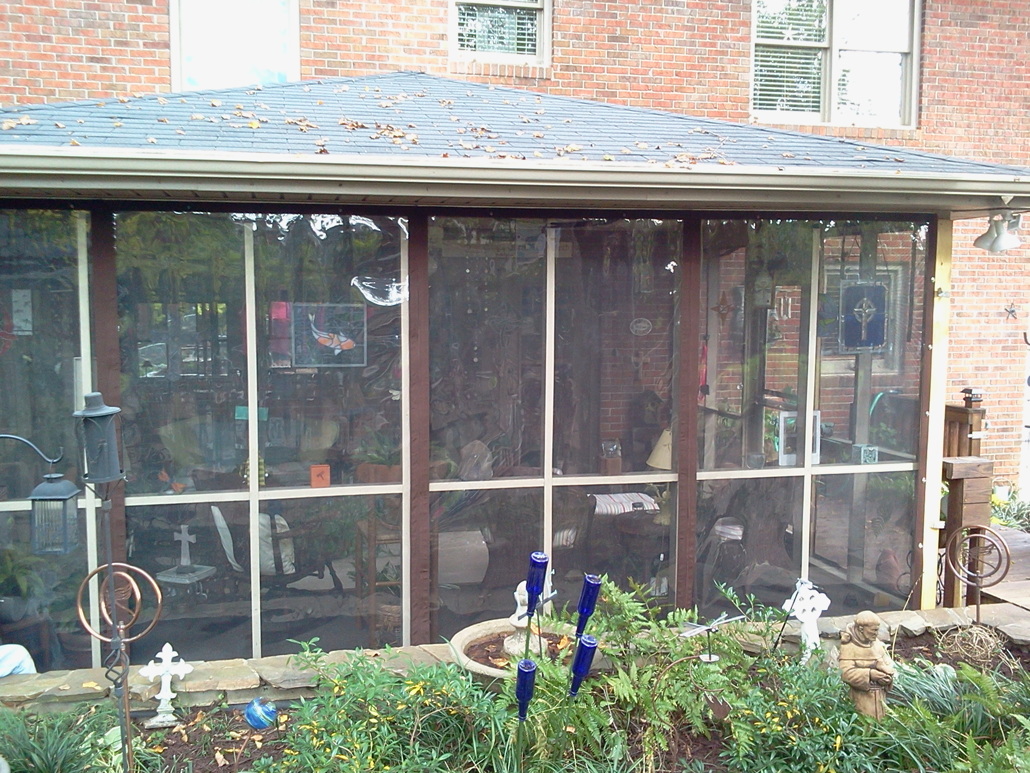 custom patio enclosure by Anchor Stitch Marine Upholstery & More, Easley, SC